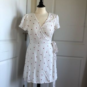 Forever 21 Wrap Dress Size L